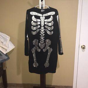 Bones pencil dress